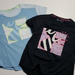 Under Armour 2 pc. Girls Shirt YXL 👕